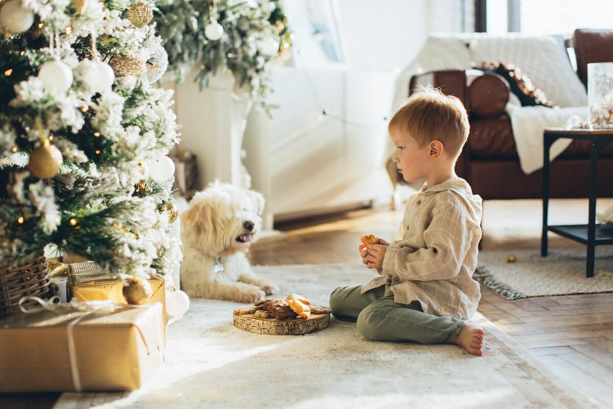 pets with children